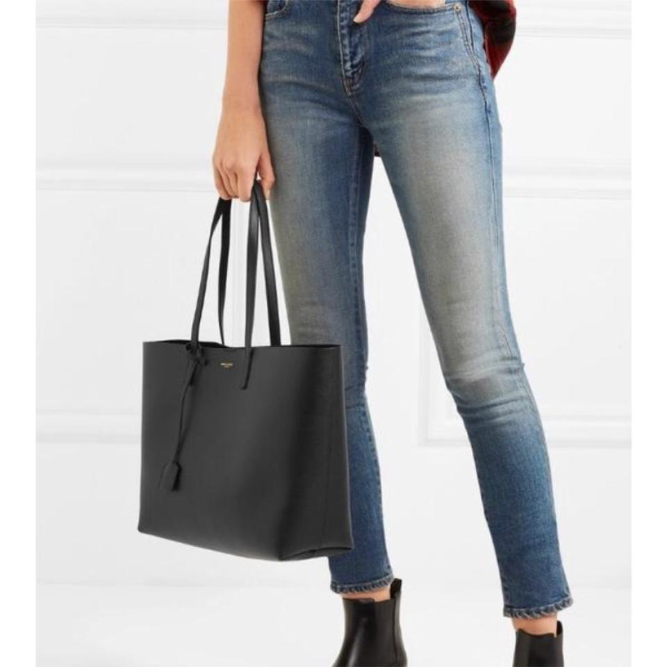 353c47914 Saint Laurent Bag Shopper Large Leather Tote - Tradesy