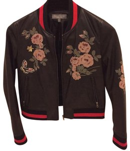 Bagatelle black Leather Jacket