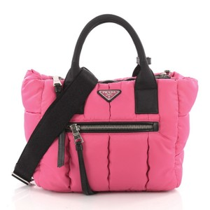 Prada Convertible Tote in pink