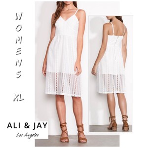 Ali & Jay short dress white on Tradesy