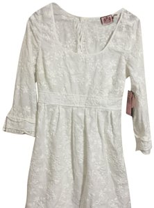 Juicy Couture short dress white on Tradesy