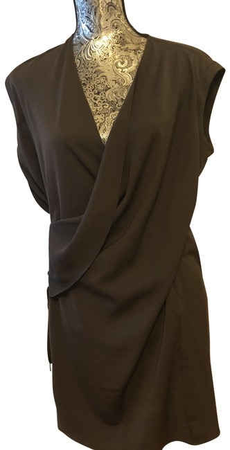 Item - Brown Cocktail Mid-length Casual Maxi Dress Size 6 (S)