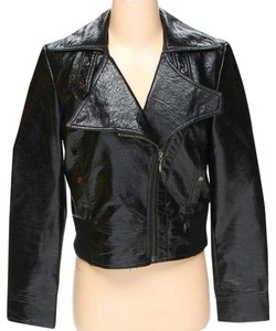 Apt. 9 Moto Leather Biker Zipper black Jacket