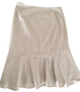 Ralph Lauren Collection Wool Skirt Beige