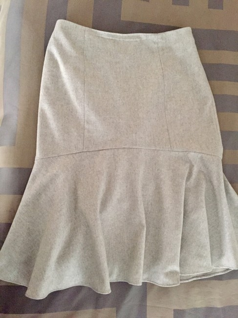 Ralph Lauren Collection Wool Skirt Beige Image 5