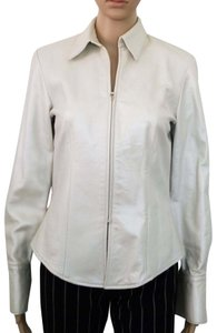 Chetta B. by Sherrie Bloom and Peter Noviello pearl Leather Jacket