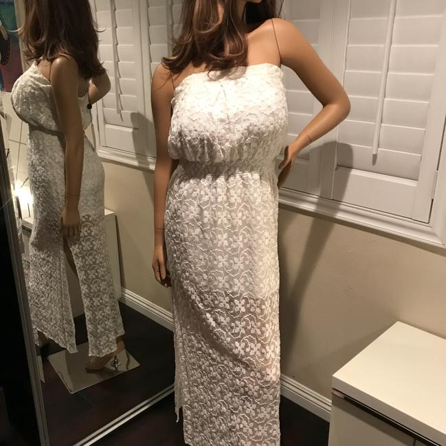 white Maxi Dress by Anthropologie Designer Ttcollection Image 1