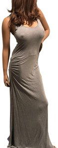 gray Maxi Dress by Cecico