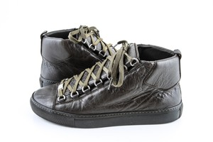 Balenciaga Green Army Arena High Sneakers Shoes