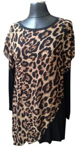 Studio West short dress Leopard on Tradesy