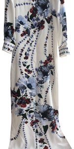 White/ Red Maxi Dress by ERDEM