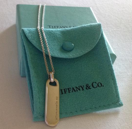 Tiffany & Co. T&Co Bar Tag Pendant Necklace Image 3