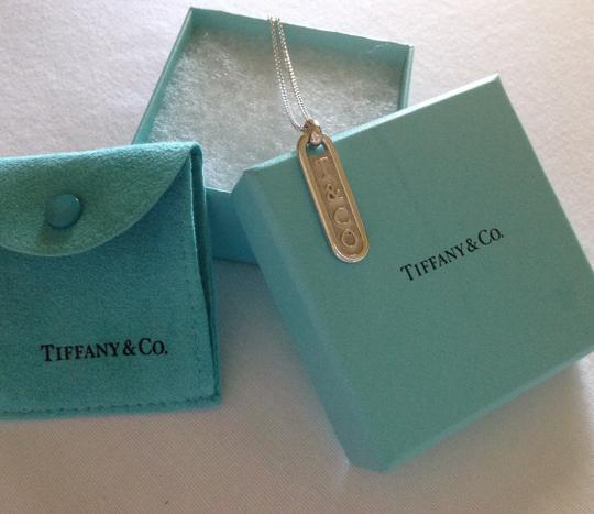 Tiffany & Co. T&Co Bar Tag Pendant Necklace Image 5