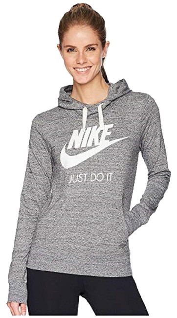 Item - Heather Gray Women's Gym Vintage Pull Over Activewear Outerwear Size 6 (S)