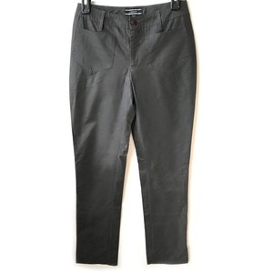 Joseph Glow Designer Stage Wear Shine Straight Pants Charcoal Reflective Material