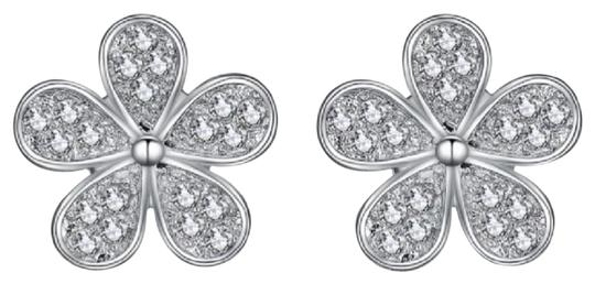 Preload https://img-static.tradesy.com/item/24020150/-14k-genuine-white-gold-flower-blossom-earrings-0-1-540-540.jpg