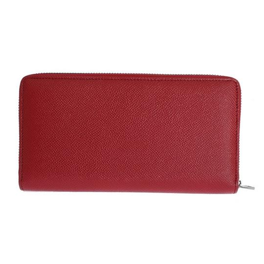 Dolce&Gabbana D50155 Women's Red Leather Dauphine Continental Wallet Image 2