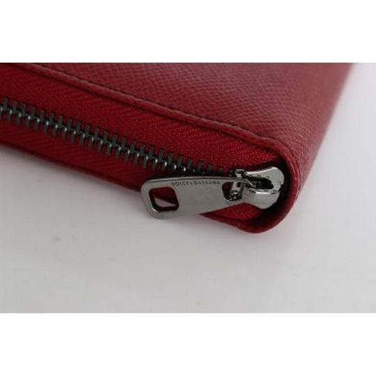 Dolce&Gabbana D50155 Women's Red Leather Dauphine Continental Wallet Image 4
