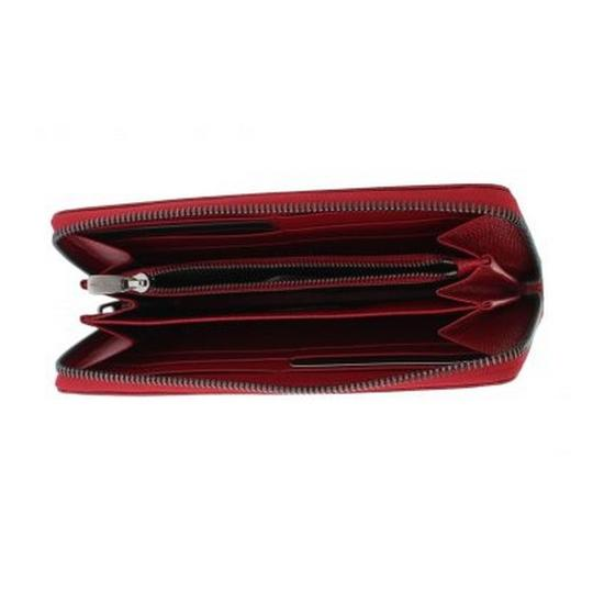 Dolce&Gabbana D50155 Women's Red Leather Dauphine Continental Wallet Image 6