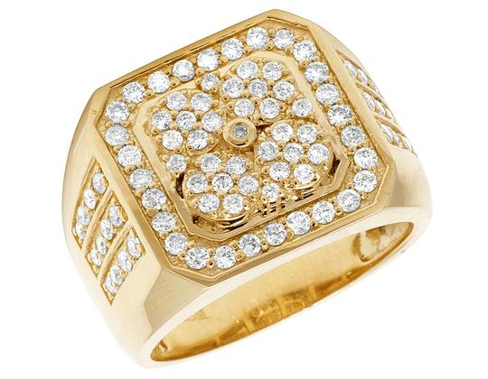 Preload https://img-static.tradesy.com/item/24020601/jewelry-unlimited-10k-yellow-gold-real-diamond-pinky-men-s-15-ct-18mm-ring-0-0-540-540.jpg