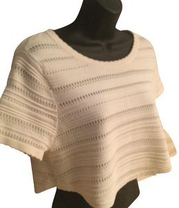Torn by Ronny Kobo Top cream color