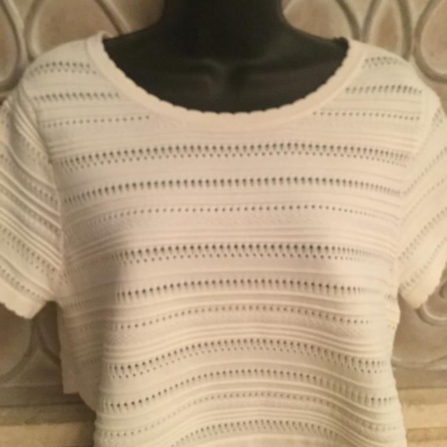 Torn by Ronny Kobo Top cream color Image 1