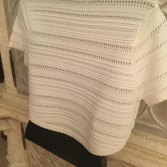 Torn by Ronny Kobo Top cream color Image 3