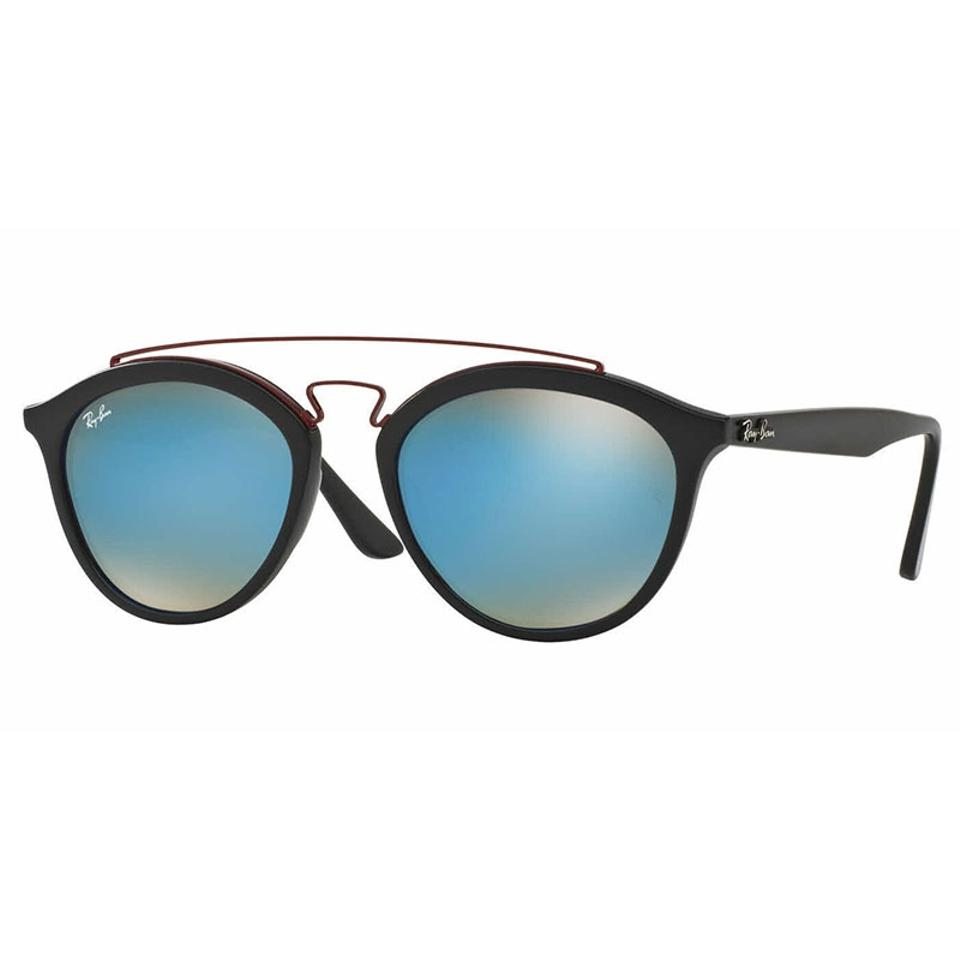 69a48c1f94 Ray-Ban Oval Women RB4257F 6252B7 Plastic Blue Gradient Lens Sunglasses ...
