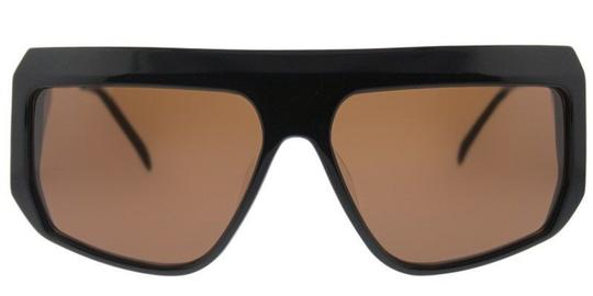 Balmain Balmain Sunglasses BL 8091 C01 Gold-Black / Brown Lens NEW! Image 1