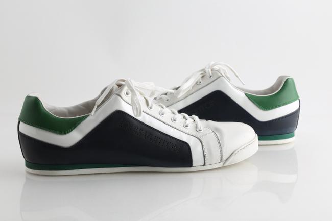 Item - White Clipper Sneakers Multi Color Shoes