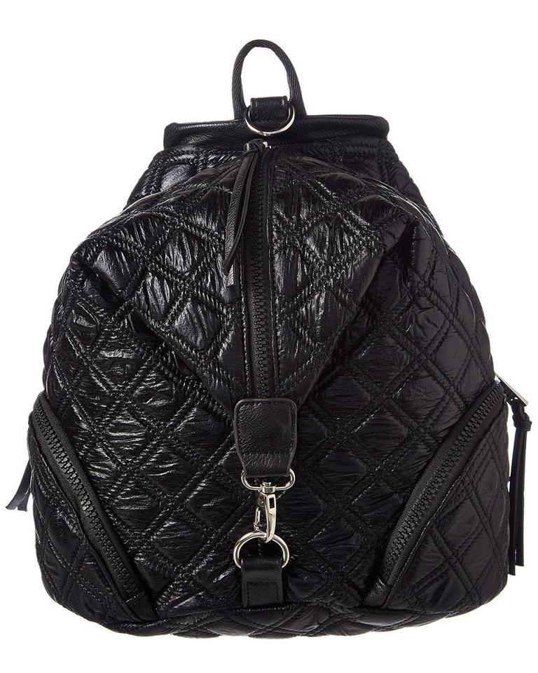 c3a959b1987 Sondra Roberts Sr Squared By Designer Quilted Black Nylon Backpack 43% off  retail
