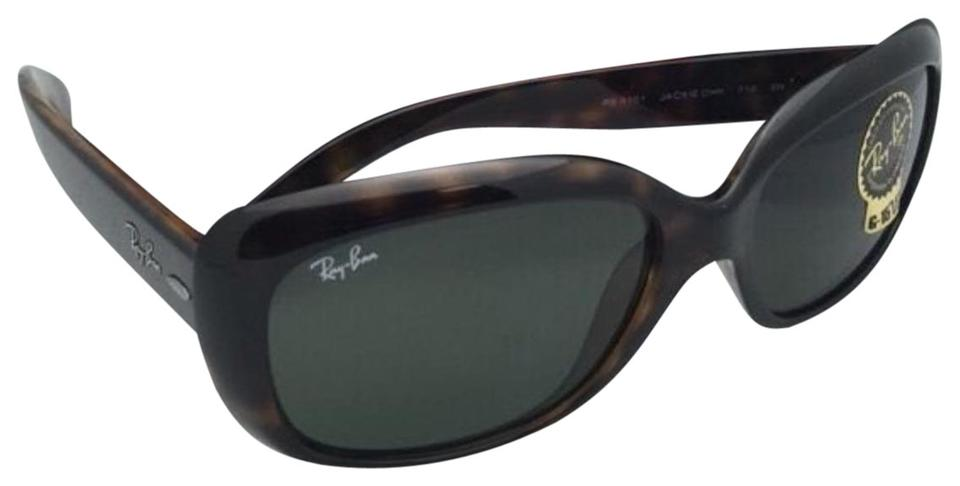 d1d8ae11a35 Ray-Ban New Ray-Ban Sunglasses JACKIE OHH RB 4101 710 Tortoise Frame w ...