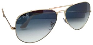 Ray-Ban New Ray-Ban Sunglasses Aviator Large Metal RB 3025 001/3F 62-14 Gold