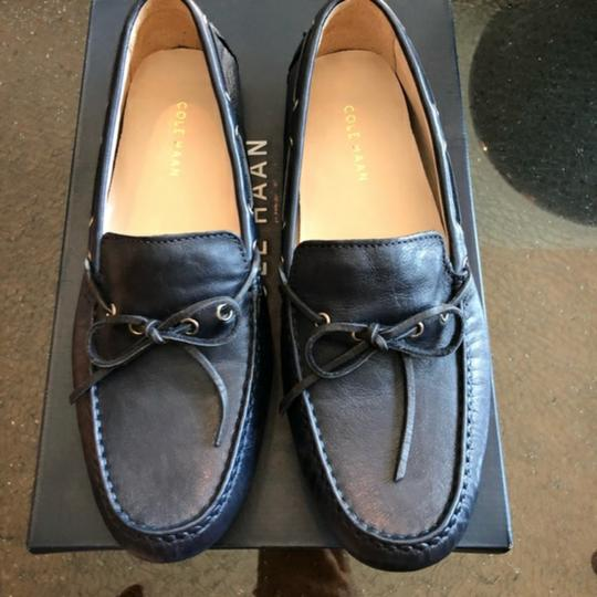 Cole Haan Navy Blue Loafers Flats Size