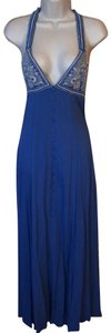 blue Maxi Dress by verty