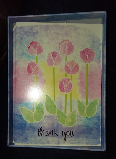 Multicolor Hallmark/Crown Point 4 Packs Of Thank You Cards Image 1