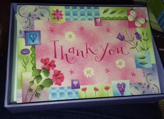 Multicolor Hallmark/Crown Point 4 Packs Of Thank You Cards Image 2