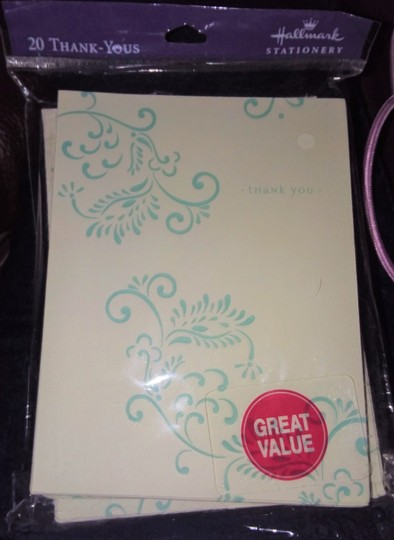 Multicolor Hallmark/Crown Point 4 Packs Of Thank You Cards Image 3