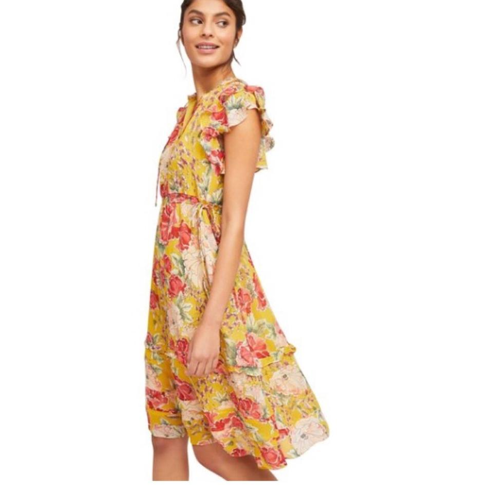 bda633c498b19 Anthropologie Ellory By Dolan Left Coast Mid-length Night Out Dress ...