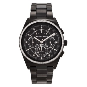 Michael Kors Michael Kors Women's Vail Black IP Chronograph Watch MK6423