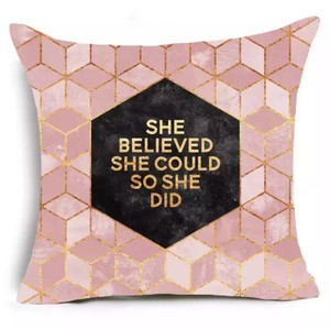 She Believed She Could So She Did Cushion Cover Other