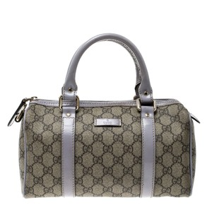 Gucci Satchel in Beige/Lilac