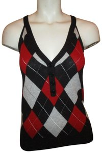 Ben Sherman Vest Argyle Knit Sweater