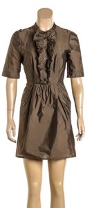 Burberry short dress Olive Green on Tradesy