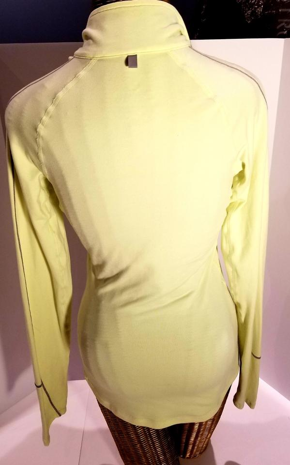 90b87c35 Nike Neon Lime Green Pullover Half Zip Activewear Top Size 2 (XS) - Tradesy