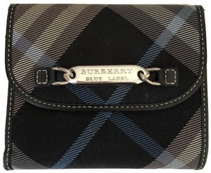Burberry Burberry Checker Bifold Wallet with Coin Comparment