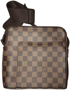 Louis Vuitton Cross Body Damier ebene Messenger Bag