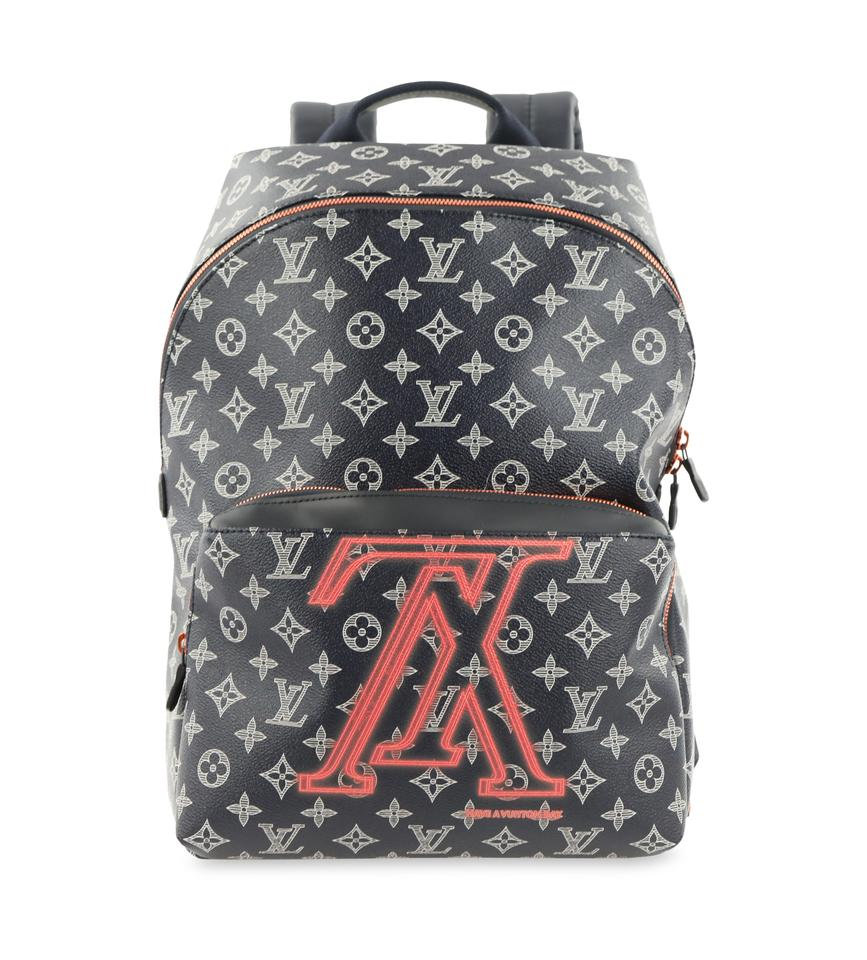 f6c15718bf69 Louis Vuitton Monogram Eclipse Discovery Pm Blue Coated Canvas ...