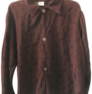 CP Shades Button Down Shirt Dark rich Plum
