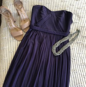 David's Bridal Purple Mesh Convertible Versa Formal Bridesmaid/Mob Dress Size 2 (XS)